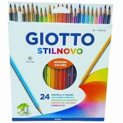 lapiz 24 colores giotto
