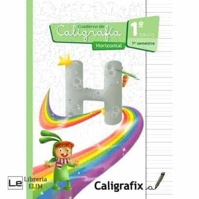 caligrafix 1 basico 1 semestre horizontal
