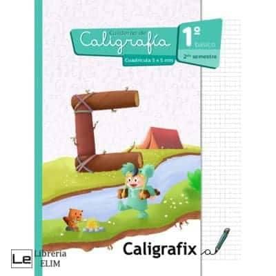 caligrafix 1 basico 2 semestre cuadricula