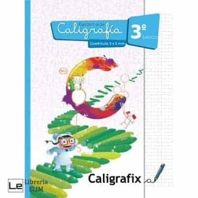 caligrafix 3 basico cuadricula