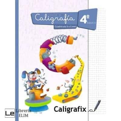 caligrafix 4 basico cuadricula