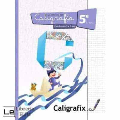 caligrafix 5 basico cuadricula