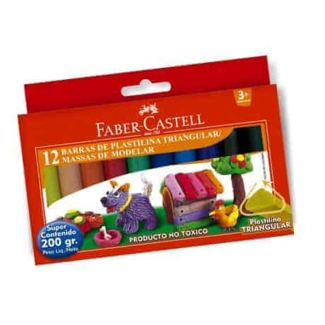 plasticina faber castell
