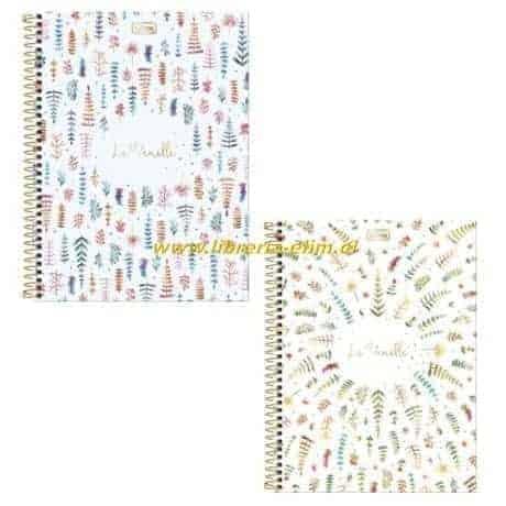 cuaderno class le vanille tilibra 100 hojas tapa dura 2 modelos - libreria elim