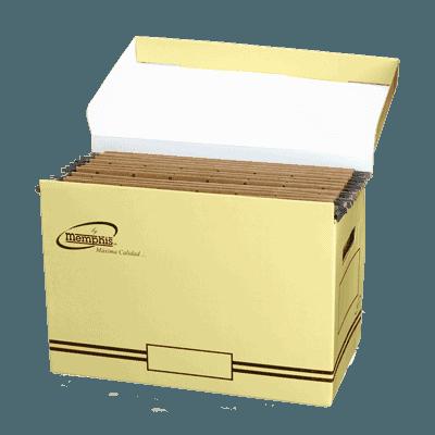 caja para carpetas colgantes memphis - libreria elim