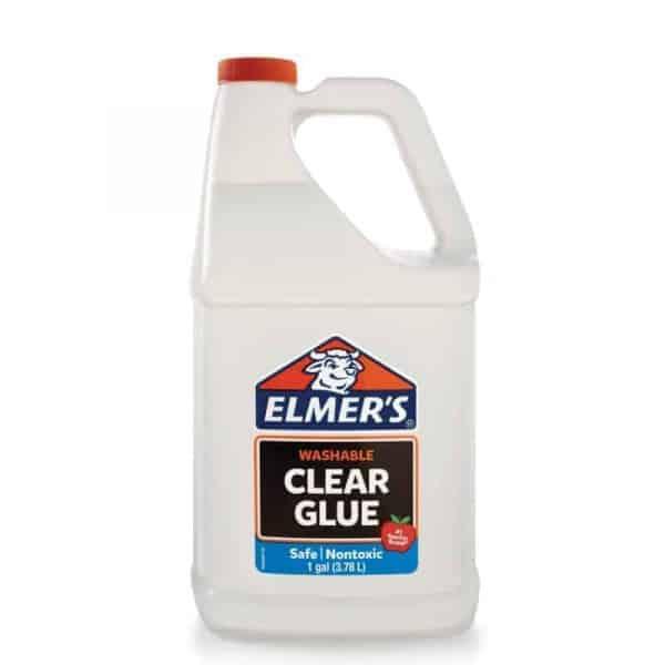 elmers clear glue 1 galon 3.78 lts lavable - libreria elim