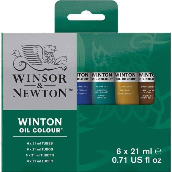SET OLEOS WINTON 6 TUBOS X 21ML – WINSOR & NEWTON