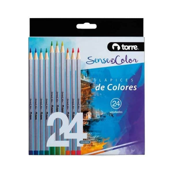 SENCE OF COLOR TORRE SET 24 COLORES