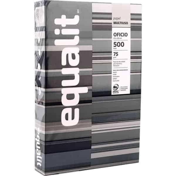 resma papel oficio equalit multiuso 500 hojas