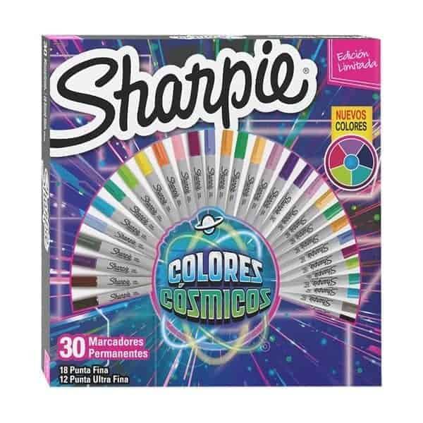 sharpie 30 marcadores cosmicos