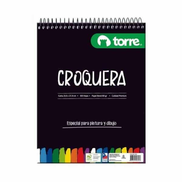 CROQUERA CARTA TORRE IMAGIA 100H - 80G 23120