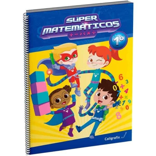 SUPER MATEMATICOS 1 caligrafix