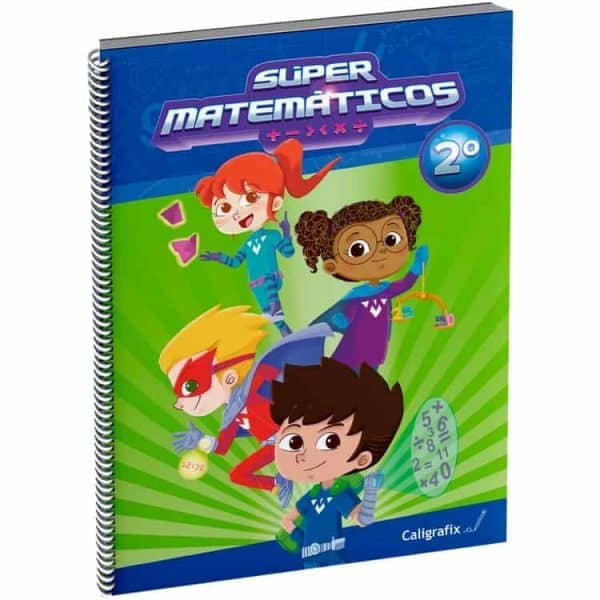 SUPER MATEMATICOS 2 caligrafix