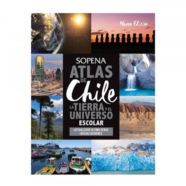 atlas de chile la tierra y el universo sopena nueva edicion 2019