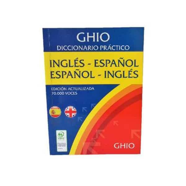 diccionario ingles español ghio 70000 mil voces