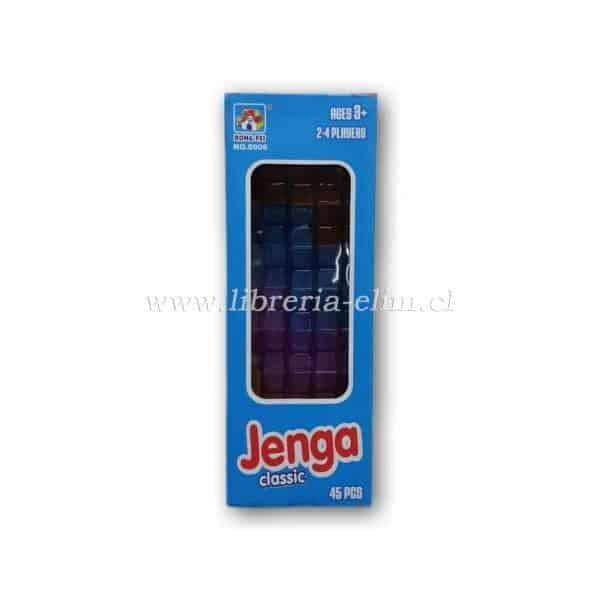 JENGA CLASSIC 45 PIEZAS PLASTICAS 2-4 JUGADORES