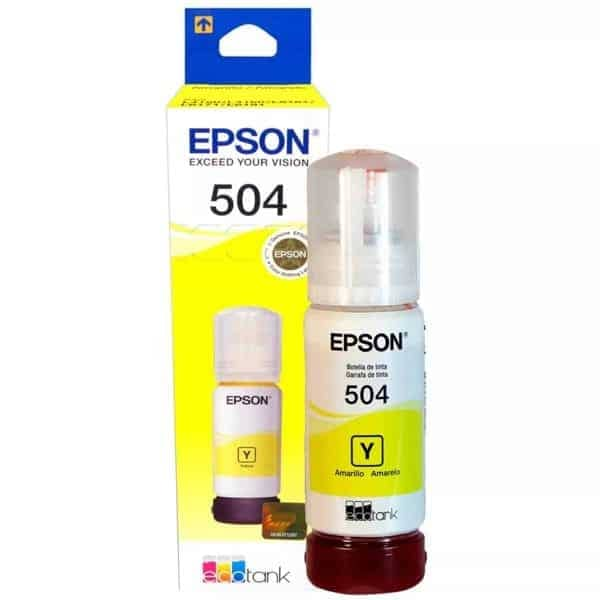 TINTA EPSON 504 AMARILLO 70ML T504420
