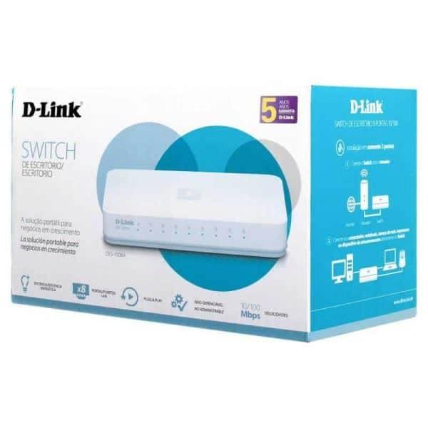 SWITCH D-LINK 8 PUERTOS 10/100MBPS 7060484