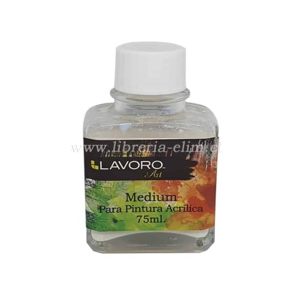 MEDIUM PINTURA ACRILICA 75ML LAVORO