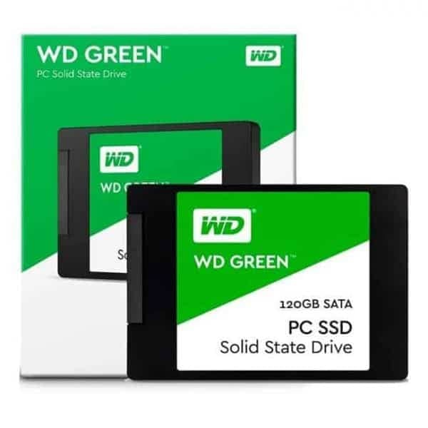 DISCO SSD 120GB WD GREEN