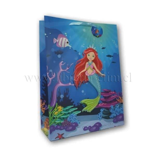 bolsa regalo sirena 3100513-3