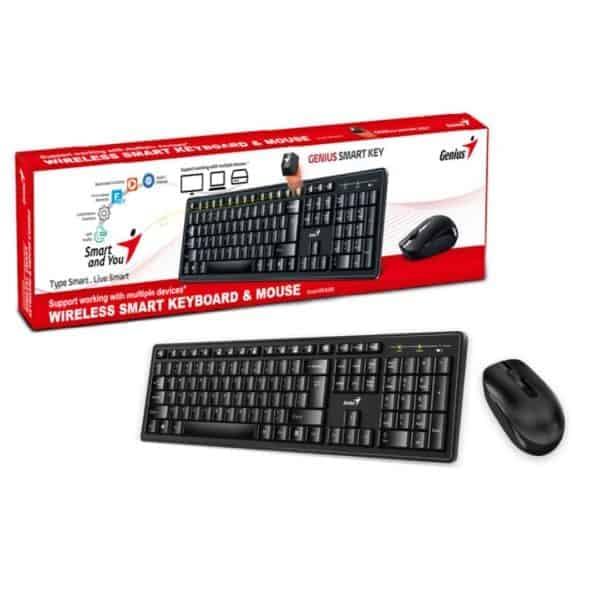 kit genius teclado y mouse kb-8200